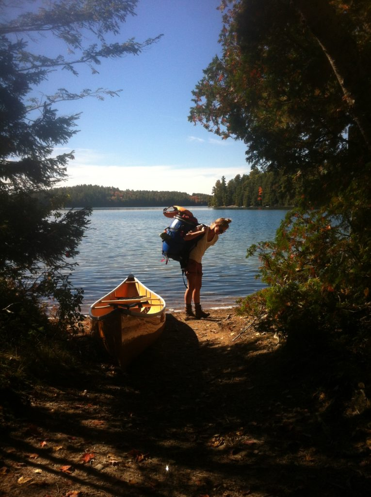 red pine lake portage